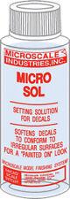 Microscale Model Railroad/Train Decal Micro Sol Setting Solution 1oz. Bottle