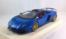 1/18 MR Lamborghini Aventador LP720-4 50 Blue Custom DMC style #1