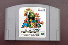Nintendo 64 Super Mario 64 Rumble pak version Japan Import N64 game US Seller