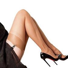 Verdadera sin fisuras strapsstrümpfe RHt francesa medias, talla 6 XL, finamente medias