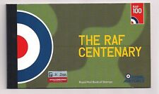 2018 GB ROYAL MAIL THE RAF CENTENARY PRESTIGE CHARACTER STAMP BOOKLET DY25 MNH
