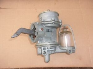 1948 1949 1950 Studebaker Champion NORS Dual Action FUEL PUMP 9218 Made In USA