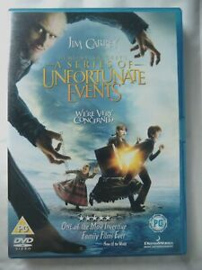71789 DVD - Lemony Snicket's A Series Of Unfortunate Events  2005  830 202