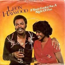 """LEON HAYWOOD If You're Lookin' For A Night Of Fun 7"""" Vinyl 20th Century Fox 1980"""