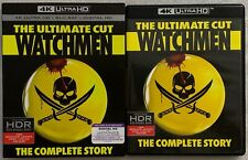 WATCHMEN THE ULTIMATE CUT 4K ULTRA HD BLU RAY 3 DISC SET + RARE OOP SLIPCOVER