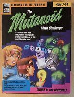 Vtg Legacy Mutanoid Math Challenge Problem Solving Alien PC Game IBM Tandy 5.25