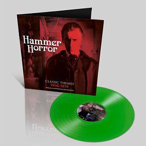 Hammer Horror Original Soundtracks - Green Vinyl LP