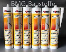 6x Acryl Dichtmasse Förch 310 ml weiss UV-Beständig