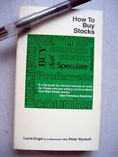 How to Buy Stocks, 6th Ed, by Louis Eagel, 366p, Soft Cover