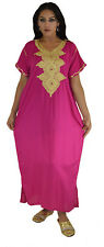 Handmade Moroccan Caftan Maxi Dress Abaya Swim cover up Lounge African Clothing