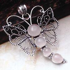 "Pendant Jewelry 2.88"" Ap 72070 Rose Quartz Ethnic Gift Handmade"