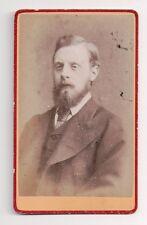 Vintage CDV Unknown Gentleman Suit & Tie Lot Dixon Photo Lancashire