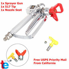 NEW 3600 PSI Airless Paint Spray Gun w/Tip & Tip Guard For TItan Wagner Sprayers