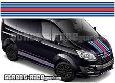 Ford Martini OTT004 Transit Custom racing stripes vinyl graphics stickers