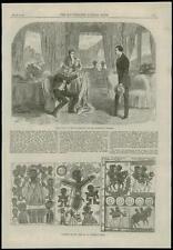 1868-Londra rivolta di HAYMARKET THEATRE ABISSINO Bibbia facsimile due pagine (63)