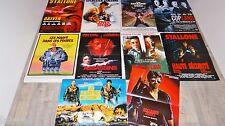 stallone lot collection 10 affiches cinema