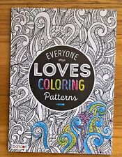 Bendon Everyone Loves Coloring Patterns-  Coloring Art Book- Adult Coloring Book