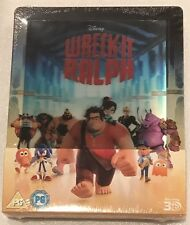 Wreck-It Ralph 3D Lenticular Steelbook UK Exclusive Limited Edition Blu-Ray