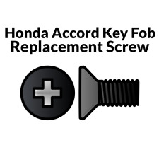 Key Fob Screw Replacement Kit for Honda Accord 2003-2012 Repair Screw Honda