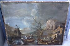 Gorgeous, European XVIII (signature monogram) - Oil on canvas (relined