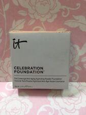 BNIB it cosmetics Celebration Foundation Full Coverage Hydrating Powder - DEEP