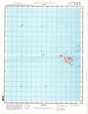 Russian Soviet Military Topographic Maps - ST. KILDA ISLES (UK, Scotland) SET