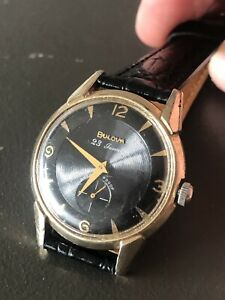 Mens Bulova 23 Jewel 10BP Wristwatch