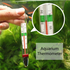 Aquarium Fish Tank Water Thermometer ℃/℉ Controller High Accuracy Submersible