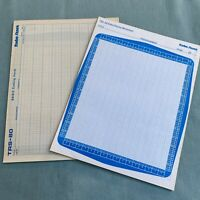 "Radio Shack TRS-80 Video Display Worksheet Screen BASIC Coding Form Pad 8.5""x11"""