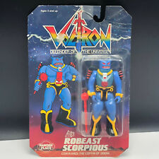 VINTAGE VOLTRON LION ACTION FIGURE TOY PANOSH PLACE MOC ROBEAST SCORPIOUS BLUE