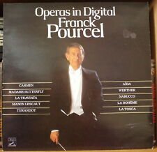 FRANCK POURCEL  OPERAS IN DIGITAL  FRENCH LP