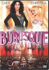 Burlesque (DVD, WS, 2011) CHER Christina Aguilera NEW