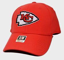 Kansas City Chiefs Reebok NFL Football Coaches Stretch Fit Cap Hat Small/Med