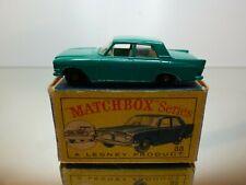 MATCHBOX LESNEY 33 FORD ZEPHYR III - RHD - GREEN - GOOD CONDITION IN BOX