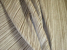 "ONE YARD ROMO COTTON VELVET PIN STRIPE ALABASTER FABRIC UPHOLSTERY 54"" w BTY"