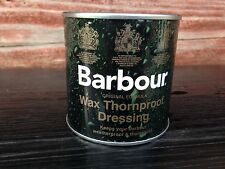 Barbour Wax Thornproof Waterproof Dressing Tin For Jackets & Clothing NEW