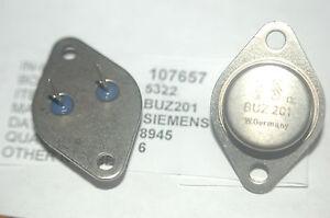 SIEMENS BUZ201 Power Transistor Metal Case TO-3 New Lot Quantity-1