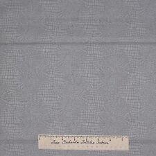 Modern Mod Fabric - Gray Snakeskin Cobblestone - Dear Stella Cotton YARD