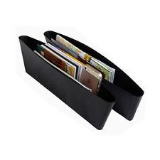 2X Auto Car Seat Slit Pocket Catch Catcher Storage Organizer Box Caddy
