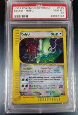 Pokemon PSA 10 Crystal Celebi!  Skyridge Holo Rare! 145/144 Gorgeous Card