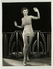 Risqué Lingerie-Clad Pre-Code Art Deco Beauty Irene Ware Original Photograph '34