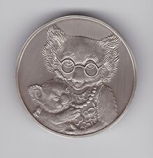 Koala Silver Medallion can be engraved out Baby Proof Set 2000 Australia 43.2 gr