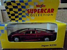 MAISTO SUPERCAR COLLECTION  - JAGUAR XJ220 - NEW IN BOX