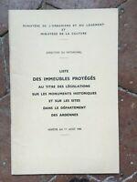 Delle Ardennes Lista Delle Monumenti Storici Ministero Sterzo Del Heritage