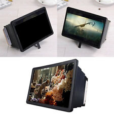 Teléfono Móvil Pantalla Lupa 3D Amplificador vídeo HD Movie Proyector Soporte