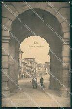 Padova Este Porta Vecchia PIEGA cartolina VK0548