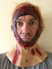 Bloody Hood Mask Latex Jason 2009 Remake Halloween Horror Fancy Dress Costume