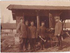 Altes Foto aus dem WK I -Goulaschkanone der M.F.K. 25 in Kalarinek (Kołacinek)