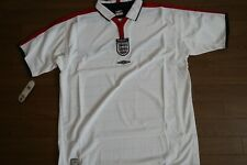 England 100% Original Soccer Football Jersey Shirt Xl 2003/2004 Home Bnwt [1526]