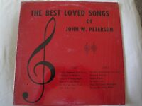 The Best Loved Songs of John W. Peterson: Singcord Records ZLP-784S, Vinyl Lp